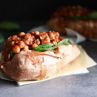 Berbere Spiced Chickpeas & Sweet Potato