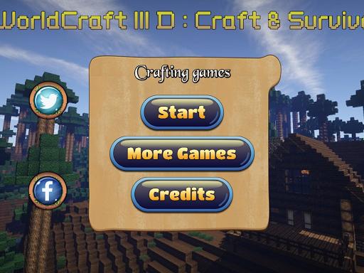 worldCraft 3D:Craft Survival