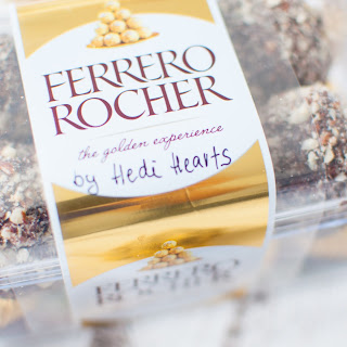 Clean and healthy Ferrero Rocher