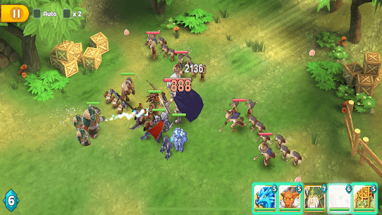 Ragnarok Tactics MOD APK [High Damage + Defense] 7