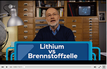 Harald Lesch: «Lithium vs Brennstoffzelle».