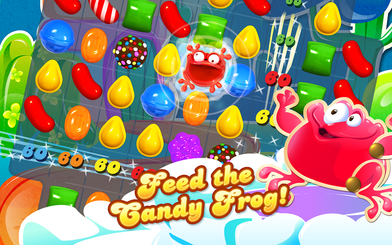Candy Crush Saga v1.56.0.3 Mod (Unlimited Lives) APK - screenshot