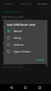 RAM Booster eXtreme Free- screenshot thumbnail