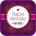 Brithday Greeting Cards Maker icon