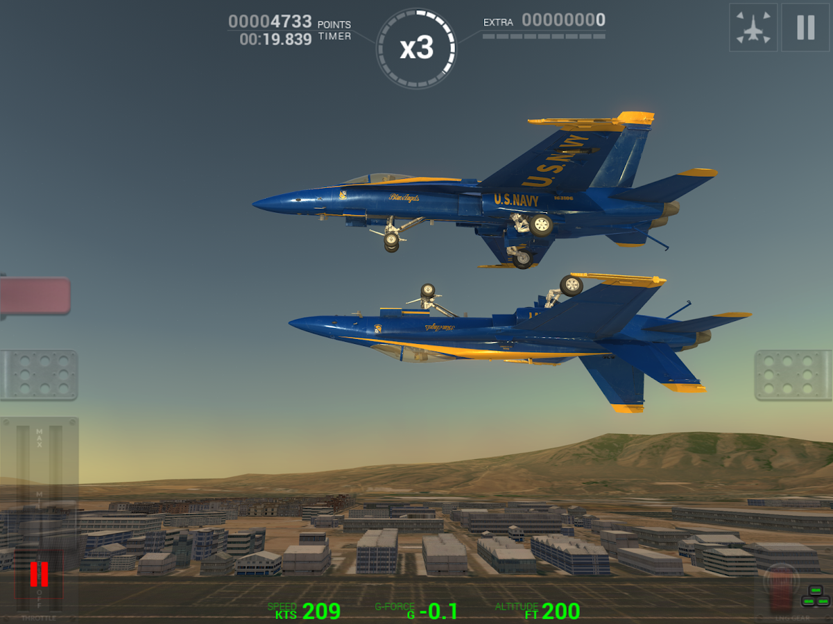 Blue Angels: Aerobatic Flight Simulator- screenshot
