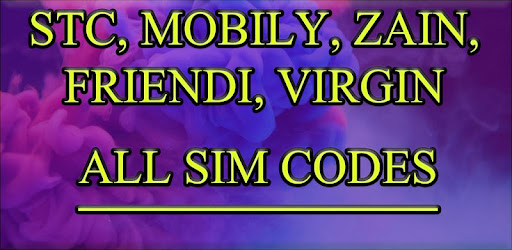 Saudi Arabia Sim Codes (All In One) – Programme op Google Play