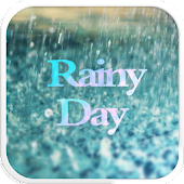 Glass Rainy Emoji Keyboard Art