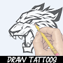 Learn How To Draw Tattoo APK icon