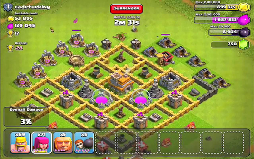 Strategy Town hall COC
