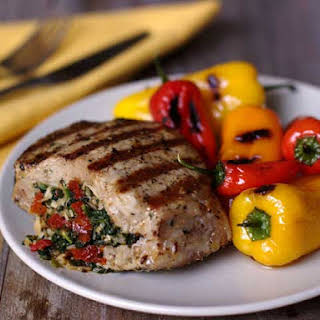 Italian-Inspired Stuffed Pork Chops.