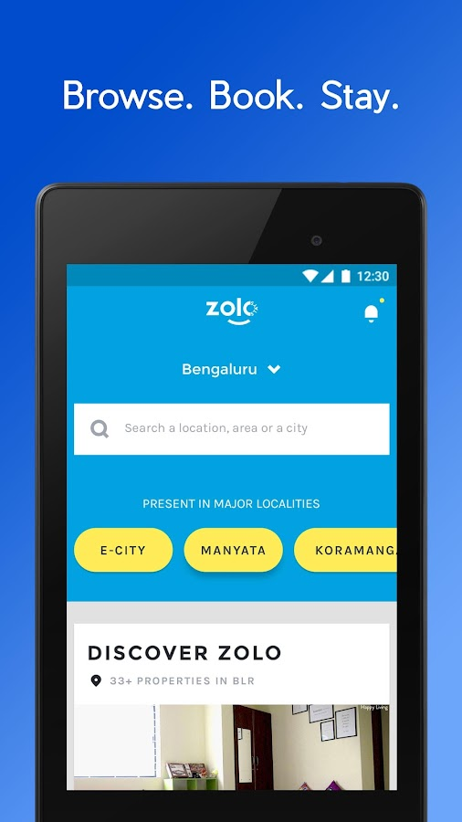 Zolo - Browse. Book. Stay.- screenshot