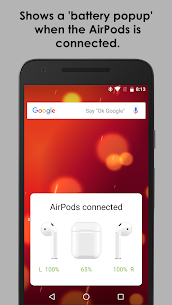 AirBuds Popup – airpod battery app v2.6.200111 [Mod + APK] Android 1