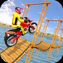 Bike Stunt Crazy Master : Dirt Bike Stunt Racer 3D icon