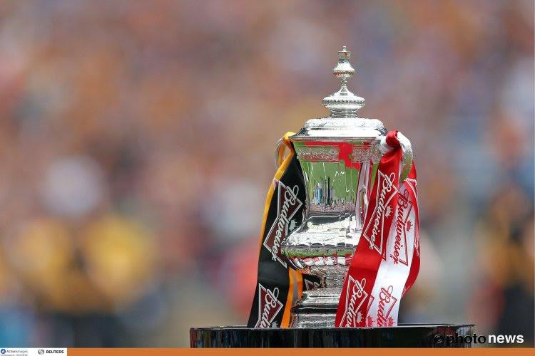 Vers la fin du replay en FA Cup