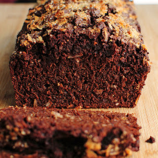 Dark Chocolate Banana Bread (with Coconut).