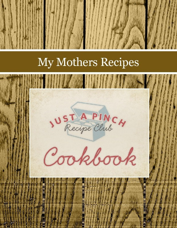 My Mothers Recipes