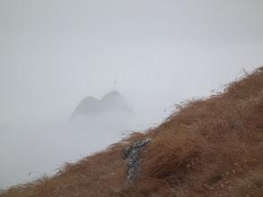 Photo: Giewont w chmurach