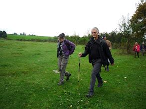 Photo: Evonne en Henk, deelnemers van dewandelsite.nl
