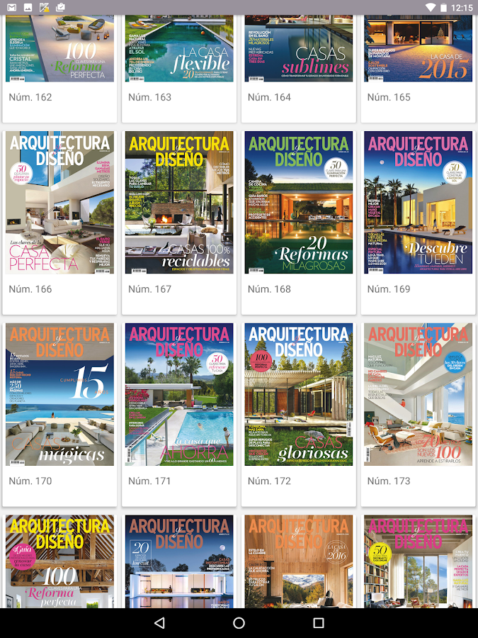 Arquitectura y Diseño Revista- screenshot