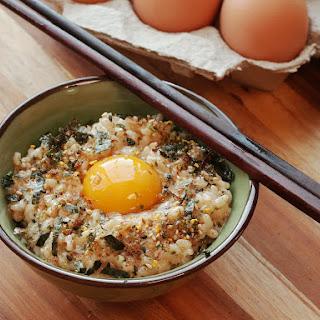 Tamago Kake Gohan (Japanese-Style Rice With Egg).