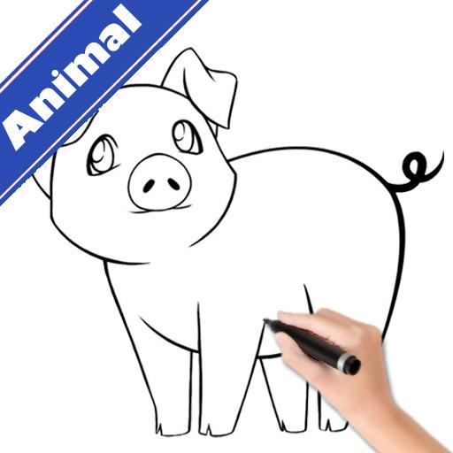 How To Draw Animals Step By Step Aplikacije Na Google Playu