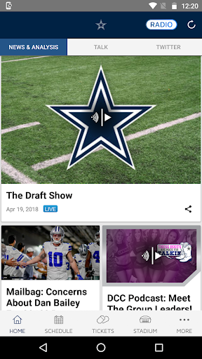 Dallas Cowboys screenshot 2