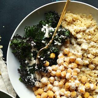 Quinoa Chickpea Buddha Bowl Recipe