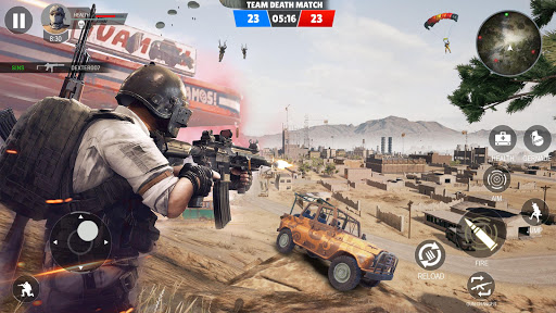 Nouveaux jeux de tir multijoueurs modernes FPS 5v5  APK MOD (Astuce) screenshots 2