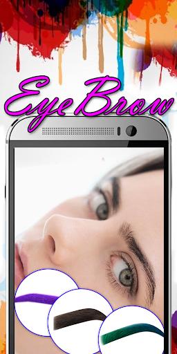 Eyebrow Shaping App - Beauty Makeup Photo 6.1 screenshots 12