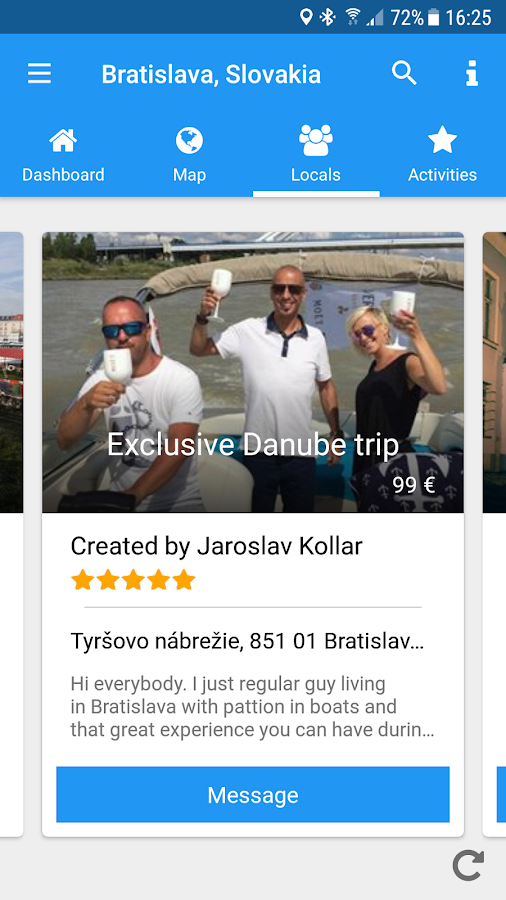 Tripasky Local Experiences- screenshot