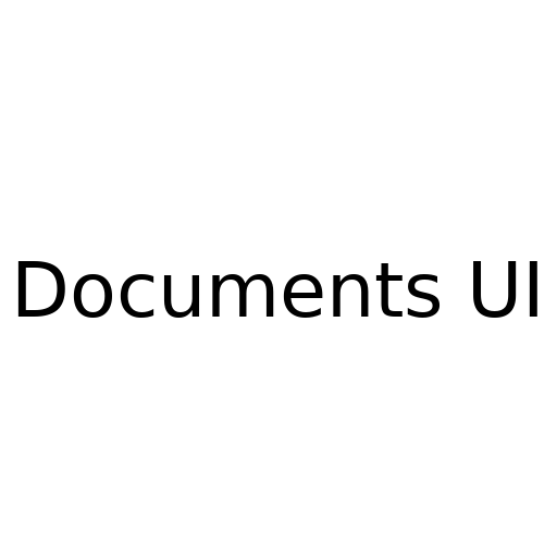 Logo for DocumentsUI