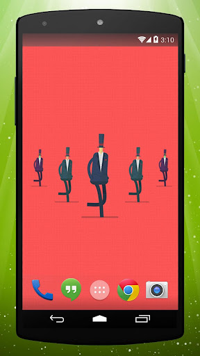 Gentlemen Live Wallpaper