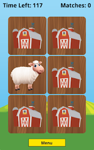 Farm Animal Picture Match- screenshot thumbnail