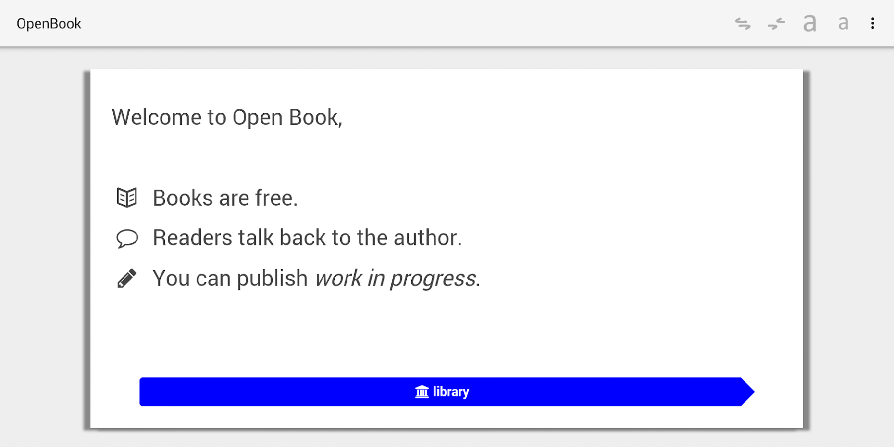 OpenBook.pub- screenshot