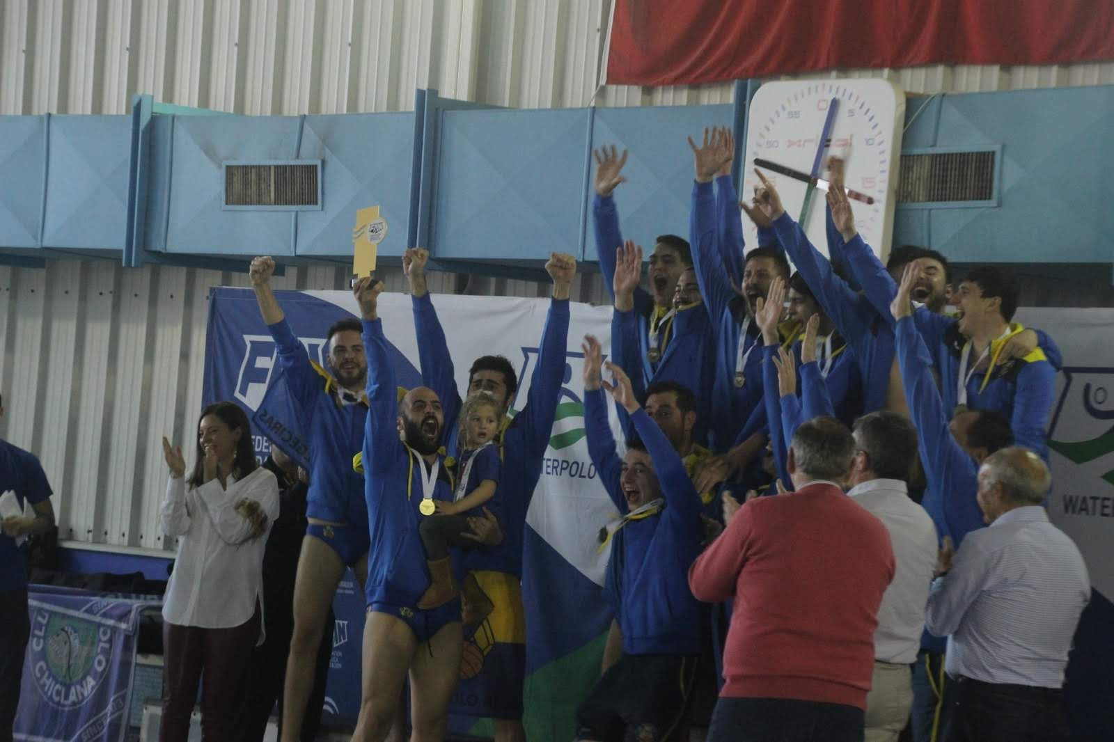Memorable jornada del Waterpolo Algeciras en San Fernando