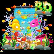 Fish 3D Parallax Launcher Theme APK