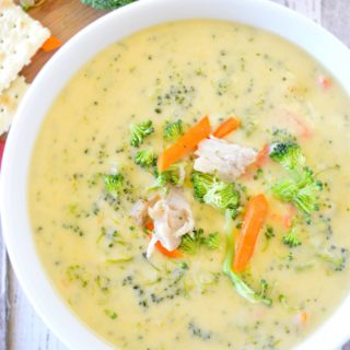 Chicken Broccoli Cheddar Soup