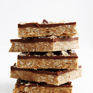 No-Bake Peanut Butter Protein Bars.