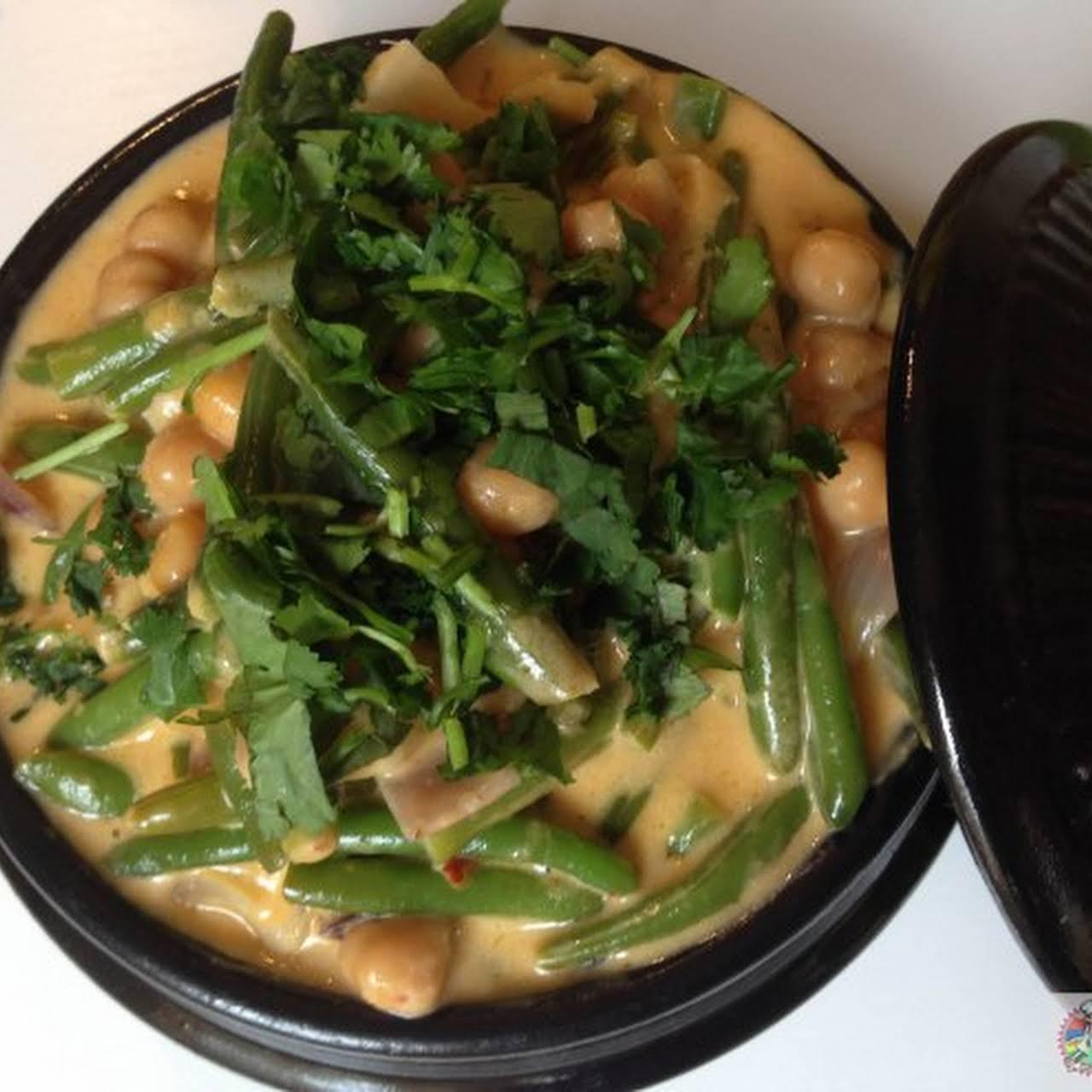 Vegan Chick Pea Curry