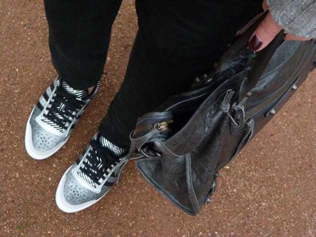 Adidas silvers sneakers