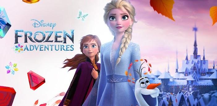 Disney Frozen Adventures – A New Match 3 Game
