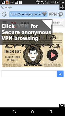 Free VPN Proxy Flash Browser 2.2 screenshot 29293