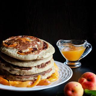 Fluffy Oatmeal Pancakes.
