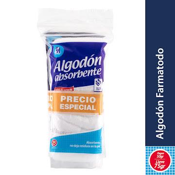 Oferta Algodon Farmatodo   ZIGZAG pague 50 lleve75 gr