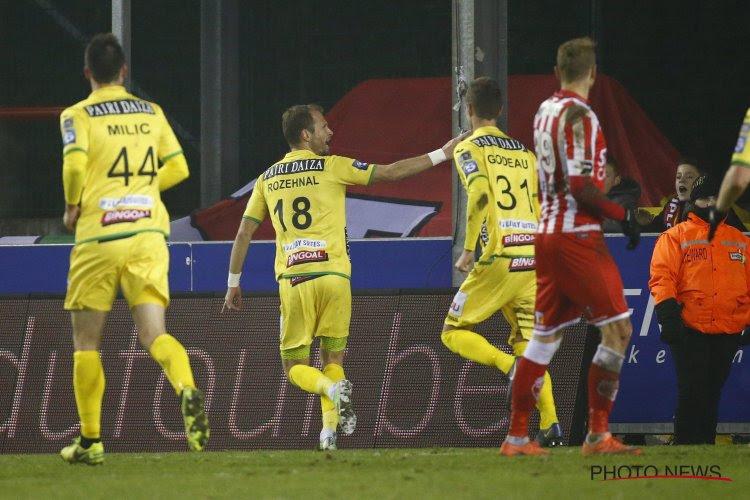 """Rozehnal verdubbelde zijn doelpuntentotaal in België: """"Belangrijkste van het seizoen? Ik ben er om ballen tegen te houden"""""""