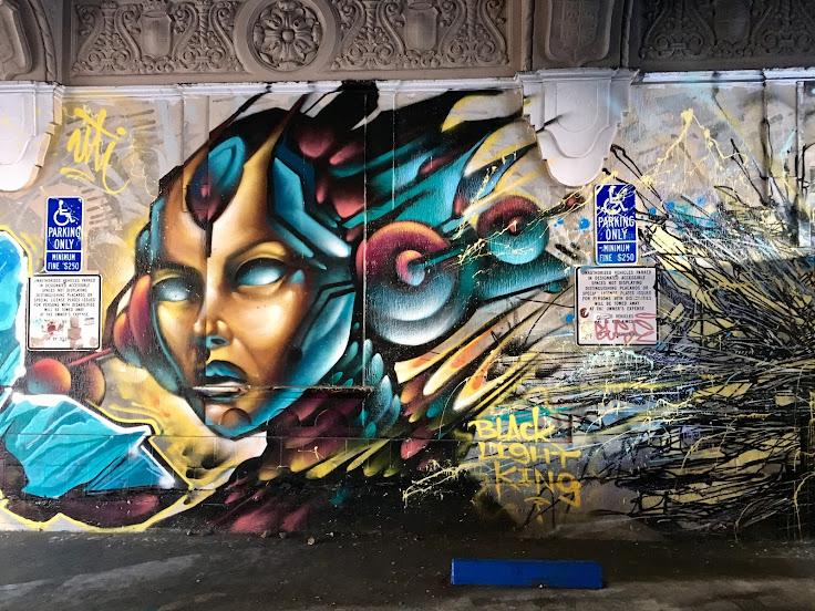 """Black Light King"" by Wai Crew."