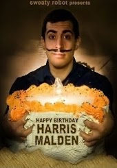 Happy Birthday, Harris Malden