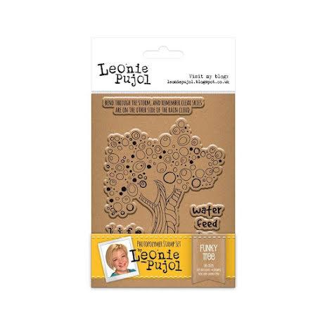 Leonie Pujol Clear Stamp - Funky Tree UTGÅENDE