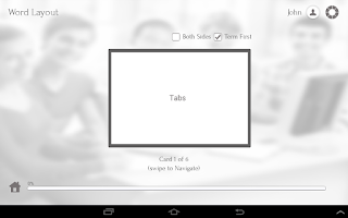 Screenshot of Learn Word by GoLearningBus