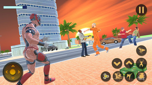 Superhero Captain Robot Flying Newyork City War 1.1 screenshots 2